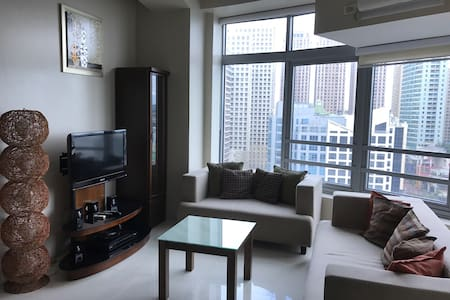 One-bedroom with everything you need in Eastwood - Quezon City - Apartment