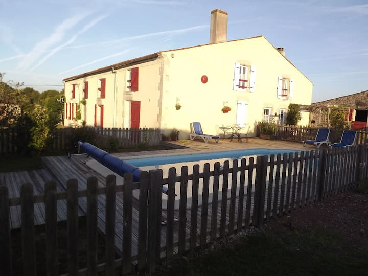 Maison 6 personnes avec piscine
