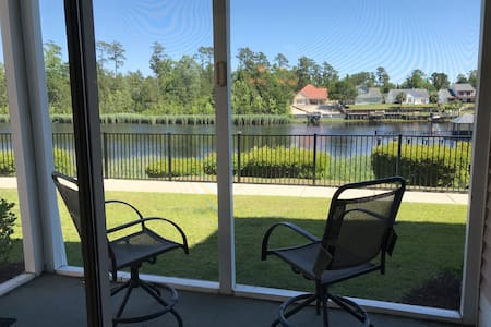 Waterway view condo with spectacular amenities