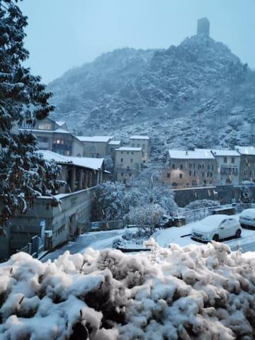 Saint-Laurent sous la neige:) (novembre 2019)
