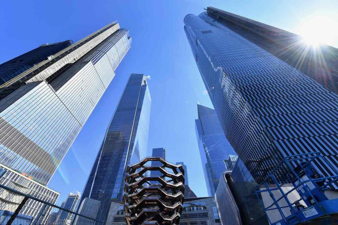 Visit Hudson Yards in New York City Manhattan it is the must expensive project cost (25 Billions)