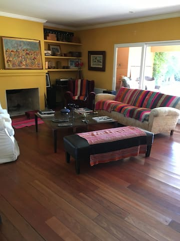Casa calida con increibles vistas
