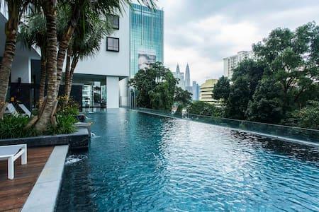 Horizon Residences in Bukit Bintang /Wifi/Parking - Kuala Lumpur