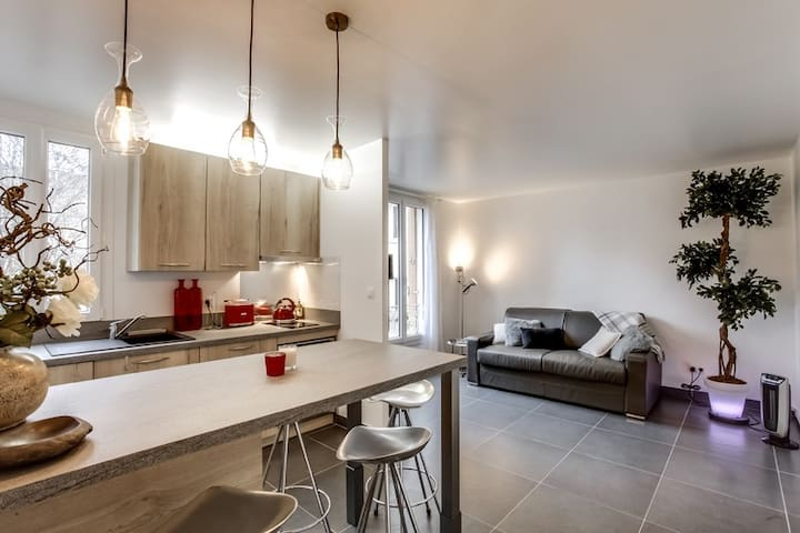 Lovely Modern Apartment near La Defense/Paris - Courbevoie - Departamento