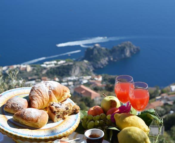 BEST ITALIAN EXPERIENCE-B&BMiraMare AGEROLA&AMALFI