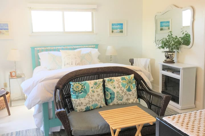 Nancy's Beach House By the Sea has a ocean view!