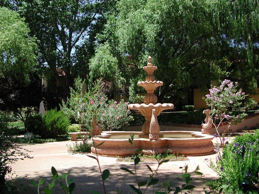 Center Courtyard & Fountain