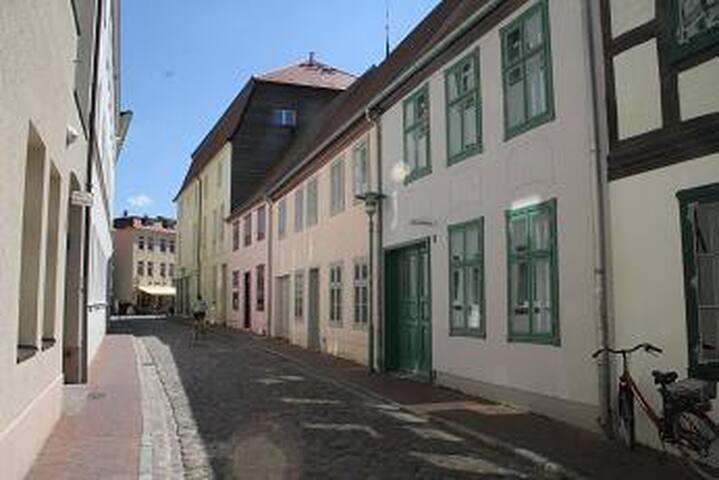 Ferienhaus im Stadtzentrum