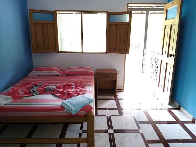 Air-conditioned double room in Los Pochocolos