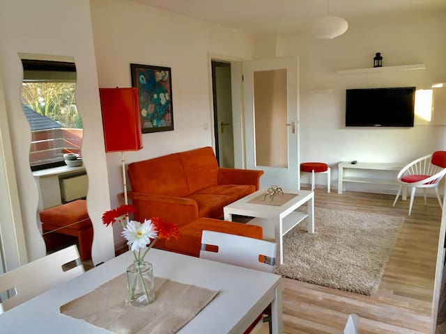 Lovely apartment with easy/fast access to the city
