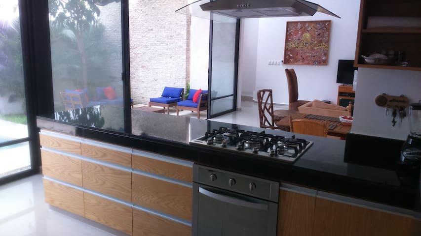 Casita agradable y moderna, selva y Norte Merida - Mérida - House