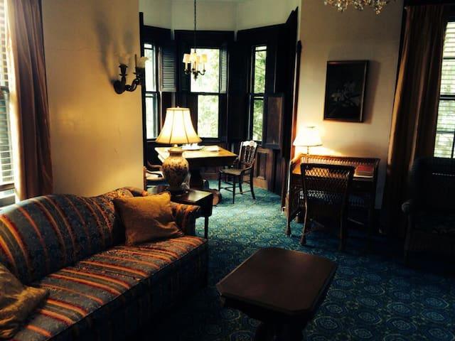 Horned Dorset Inn Suite 4. Private