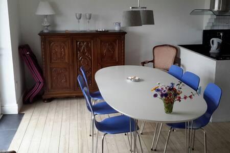 Stort familievenligt hus i centrum af Hirtshals