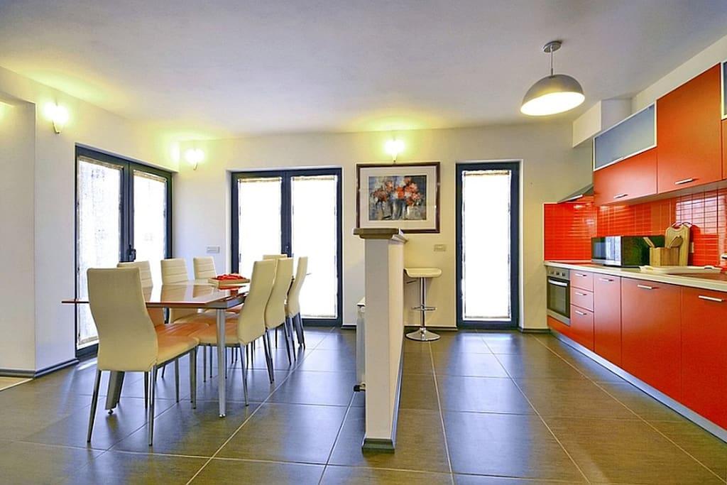 Dining area- kitchen