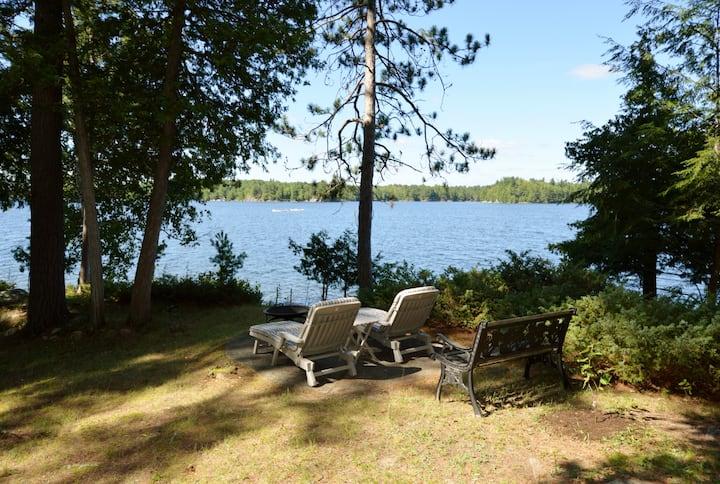 Cottage lakefront home