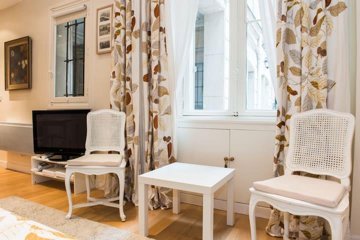 Cosy and very calm studio for 2 persons close to Musée d'Orsay