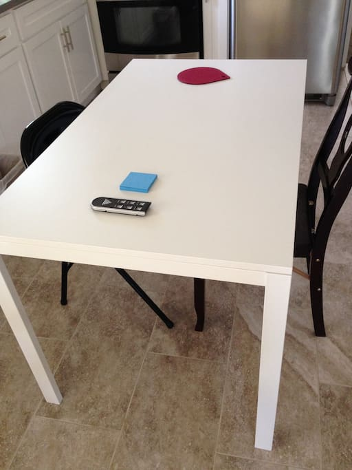 New Ikea dinning table