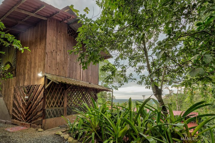 1 BDRM Ocean View Jungle Casita At Yoga Center