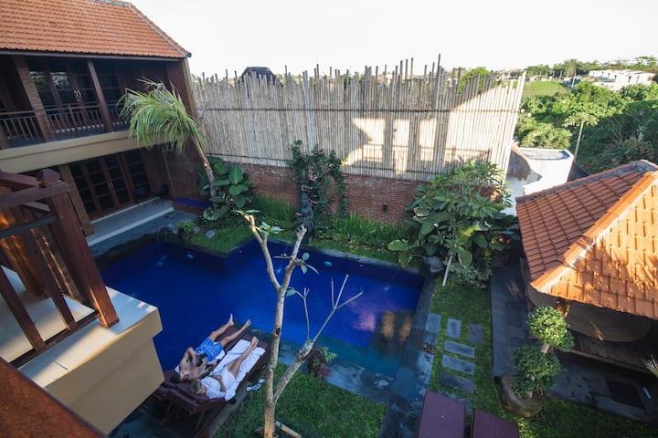 W. Village canggu Deluxe doublebed 2 bedrooms3