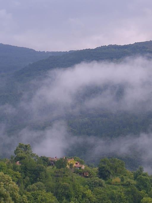 Podere di Maggio nella valle