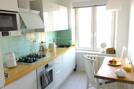White space VLOG youtube - Moskva - Wohnung