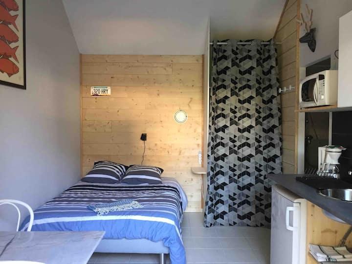 Studio cosy indépendant aux portes de Rennes