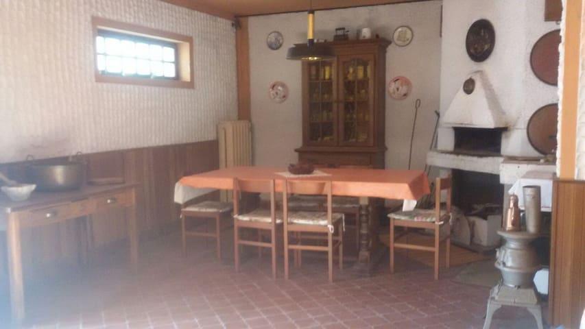 casa indipendente 25 minuti mare - Pontinvrea - House