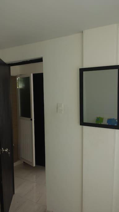 Espejo interno