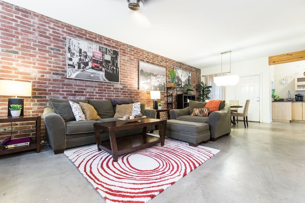 Large open floor plan for you and your traveling companions to enjoy each other's company!