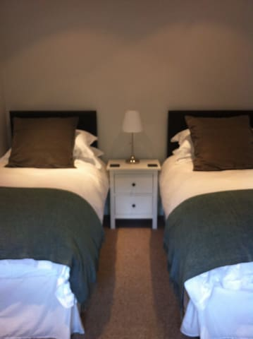 Second bedroom - beds can be prepared as a super king