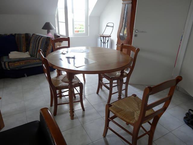 Appartement très agréable dans le Cotentin - Barneville-Carteret - Leilighet