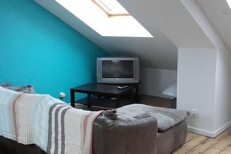 Chambre 40m2 pour 2/4 pers près Lens, Lille, Arras - Pont-à-Vendin