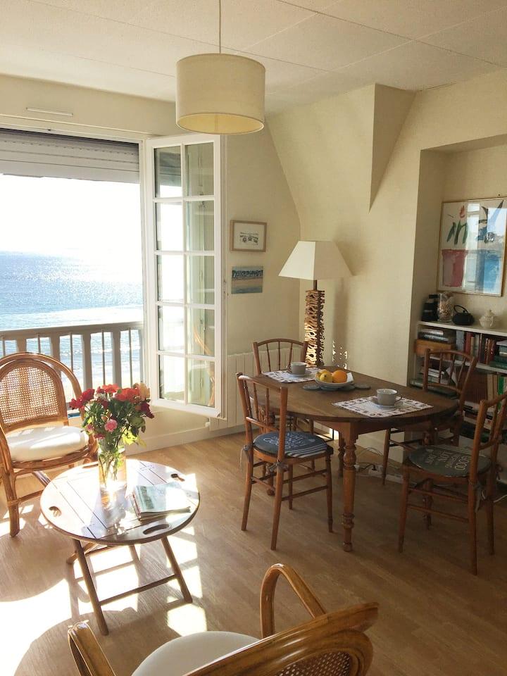 Charmant appartement bord de mer Saint-Cast