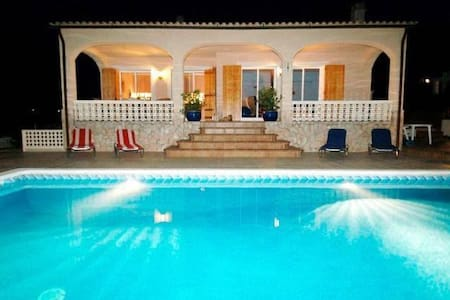 Nice home w/swimming pool & piano close to beaches - Maçanet de la Selva