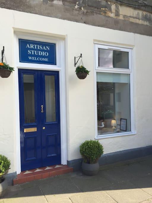 Artisan Studio- the 'wee' apartment in Tarbert