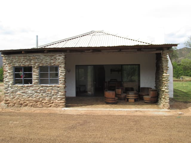 Farm cottage with private hottub