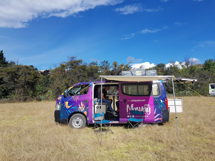 Campervan Maway - Enjoy a Colombian roadtrip