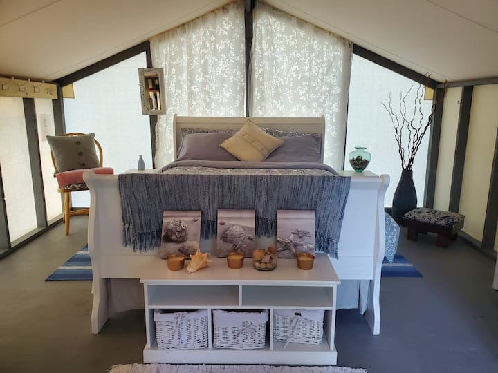 Wellspring Wall Tent Retreat - Beach Room (#1)