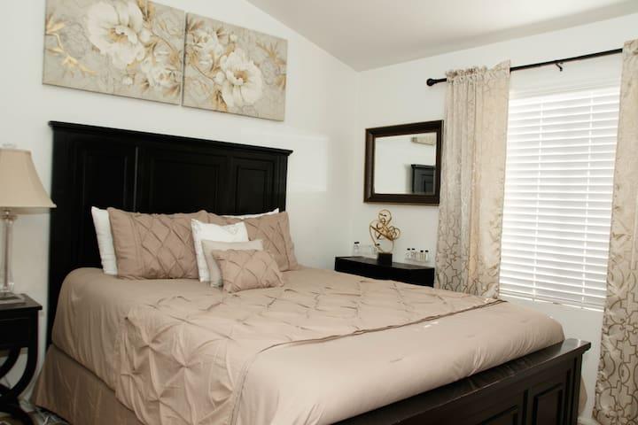 Comfort at its Best..1 of 2 bedrooms Queen  Size.
