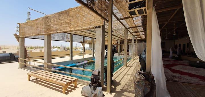 Al Khateem Art Hub - Local Emirati Farmhouse