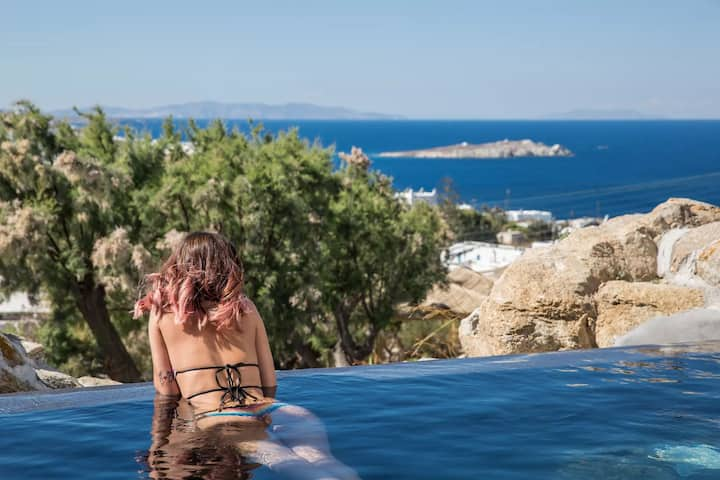 Honeymoon Suite | Private Pool & Sea View