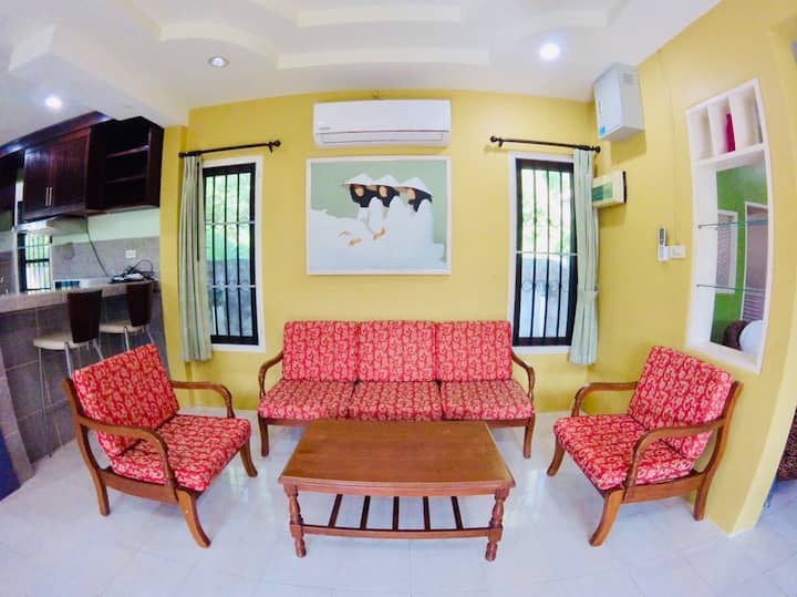 PSU, 2 Bedrooms house, 600 meters to Bangtao Beach