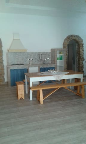 CASA VACANZE GROTTA AZZURRA - Tre Fontane - Apartamento