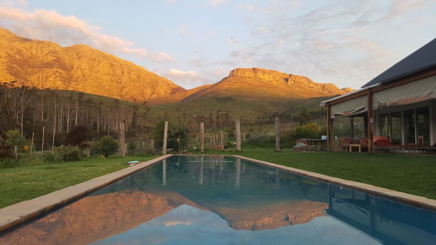 Selfcatering Paarl off the beaten track Mountains