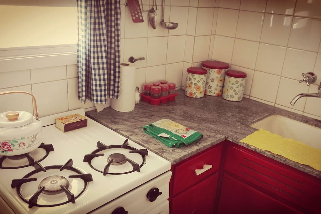 Cocina equipada full vintage