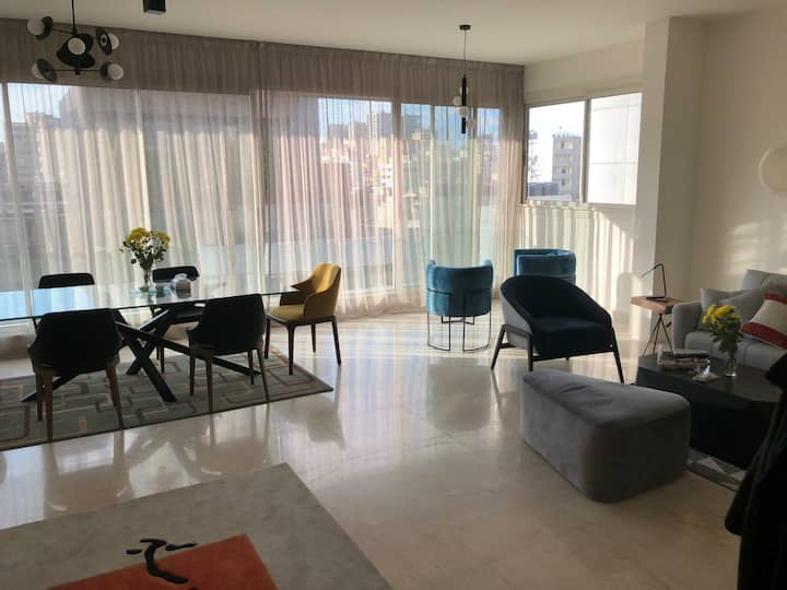 Charming entire flat in Beirut / 3 BR