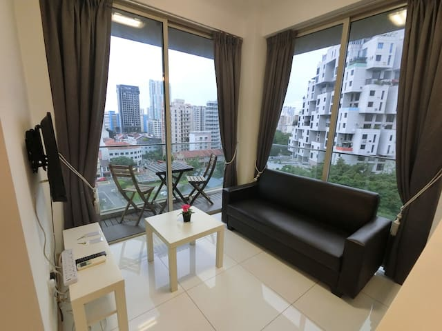 ♥1BR Shaw Plaza Shopping Mall and Great Food (tt1)