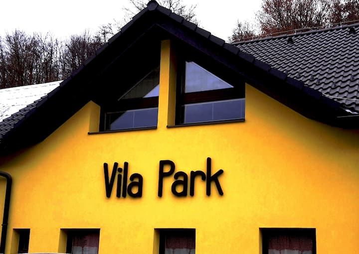 Villa Park accommodation in Vyhne