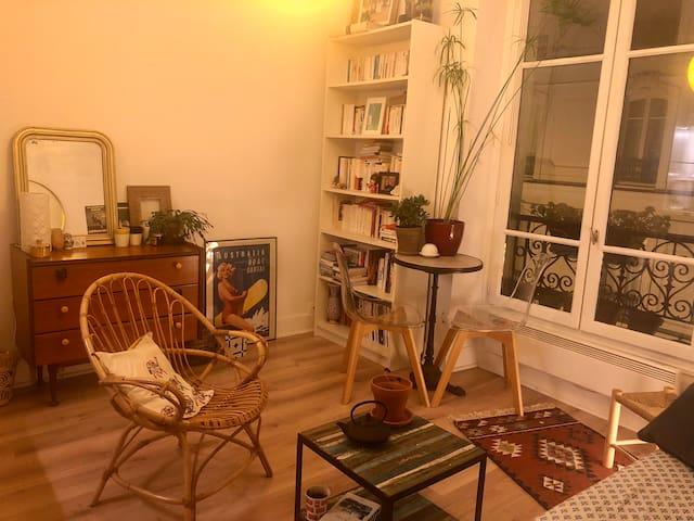 Cozy apartment Paris 11