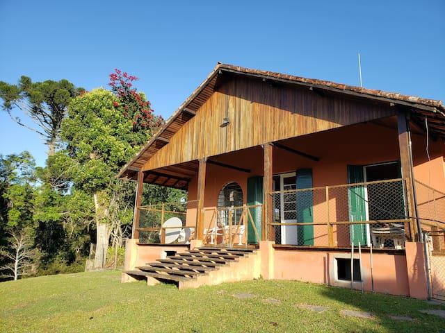 Casa de Campo agradável, ampla vista floresta
